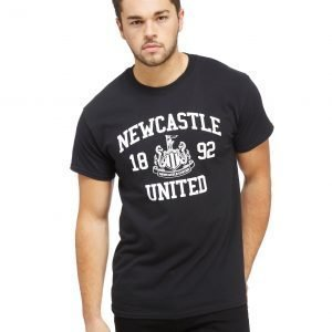 Official Team Newcastle United T-Shirt Musta