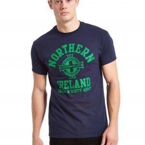 Official Team Northern Ireland Arch T-Shirt Laivastonsininen