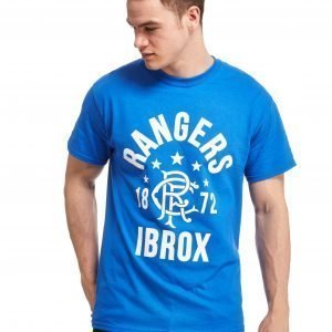 Official Team Rangers Fc Ibrox T-Shirt Royal Blue