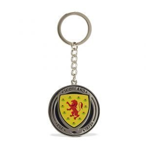 Official Team Scotland Crest Keyring Sininen