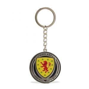Official Team Scotland Crest Keyring Sininen