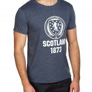 Official Team Scotland Fa 1873 Short Sleeve T-Shirt Heather Navy
