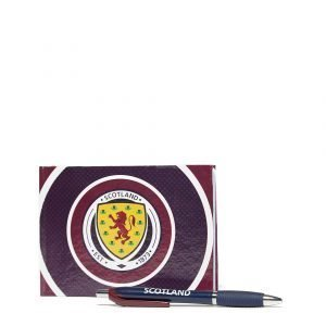 Official Team Scotland Fa Autograph Book Maroon