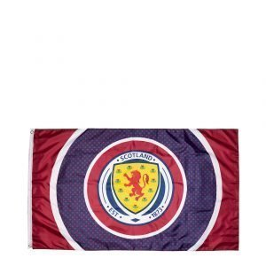 Official Team Scotland Fa Bullseye Flag Laivastonsininen