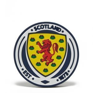 Official Team Scotland Fa Crest Magnet Sininen