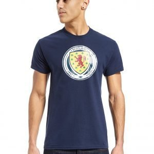 Official Team Scotland Fa Crest T-Shirt Laivastonsininen