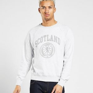 Official Team Scotland Fa Crew Sweatshirt Harmaa