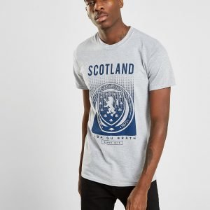 Official Team Scotland Fa Fade Short Sleeve T-Shirt Harmaa