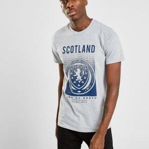 Official Team Scotland Fa Fade Short Sleeve T-Shirt Harmaa