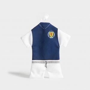 Official Team Scotland Fa Home Kit Car Hanger Sininen