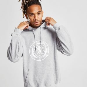 Official Team Scotland Fa Hoodie Harmaa