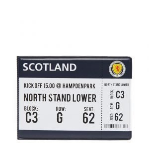 Official Team Scotland Fa Match Day Card Wallet Laivastonsininen