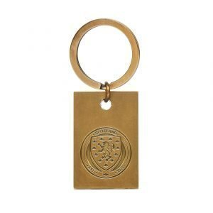 Official Team Scotland Fa Vintage Keyring Kulta