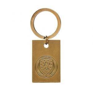 Official Team Scotland Fa Vintage Keyring Kulta
