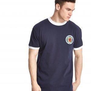 Official Team Scotland Home 1967 Shirt Laivastonsininen