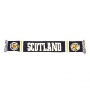 Official Team Scotland Jacquard Scarf Laivastonsininen