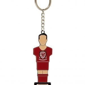 Official Team Wales Bottle Opener Key Ring Punainen
