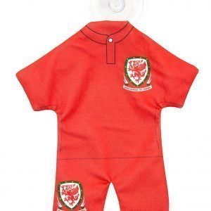 Official Team Wales Car Hanger Punainen