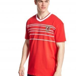 Official Team Wales Home 1984 Shirt Punainen