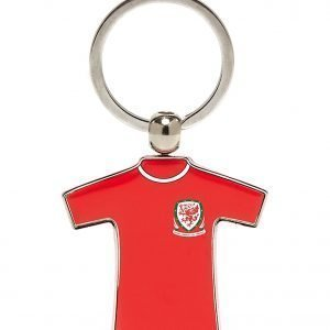 Official Team Wales Home Kit Keyring Punainen