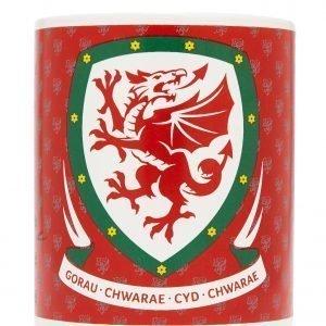 Official Team Wales Mug Punainen