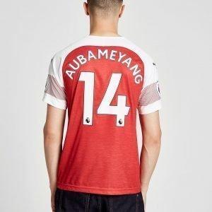 Puma Arsenal Fc 2018/19 Aubameyang #14 Kotipaita Punainen