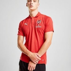 Puma Arsenal Fc Performance Polo Shirt Punainen