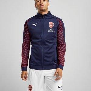Puma Arsenal Fc Stadium Jacket Laivastonsininen