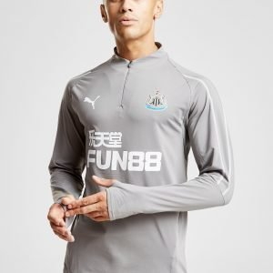 Puma Newcastle United Fc 1/4 Zip Top Harmaa