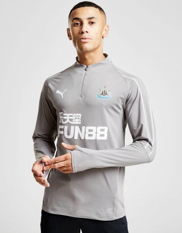 Puma Newcastle United Fc 1/4 Zip Top Harmaa