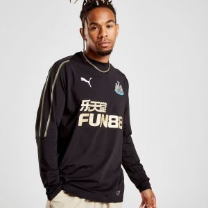 Puma Newcastle United Fc 2018/19 Sweatshirt Musta
