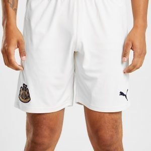 Puma Newcastle United Fc 2018/19 Vieraseli Shortsit Kermanvalkoinen