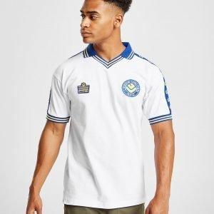 Score Draw Leeds United Fc '78 Home Shirt Valkoinen
