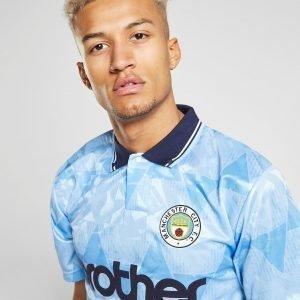 Score Draw Manchester City Fc '89 Home Shirt Sininen