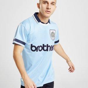 Score Draw Manchester City Fc '94 Home Shirt Sininen