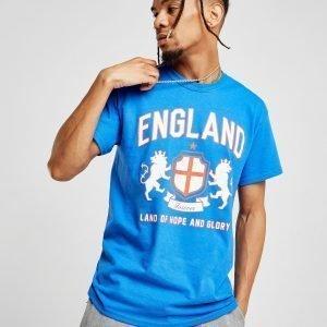 Source Lab England Crest T-Shirt Sininen