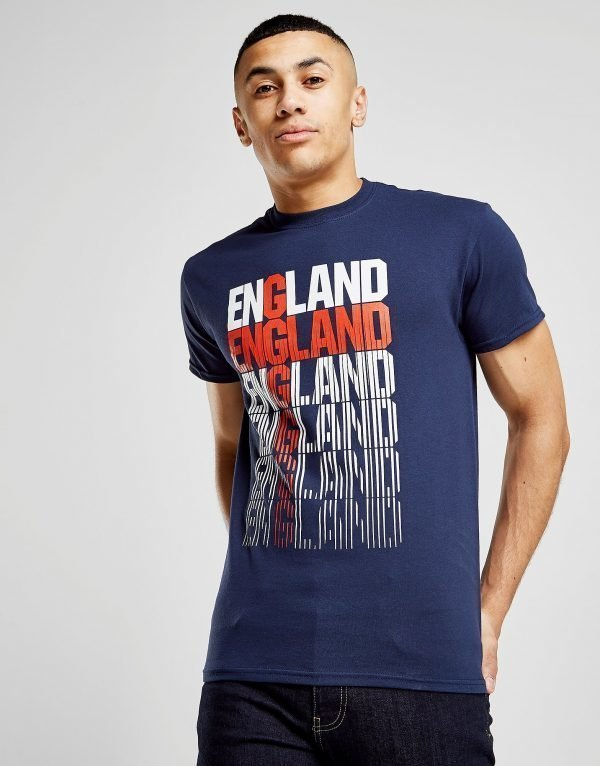 Source Lab England Flag T-Shirt Laivastonsininen