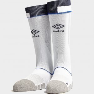 Umbro Everton Fc 2018/19 Third Socks Valkoinen