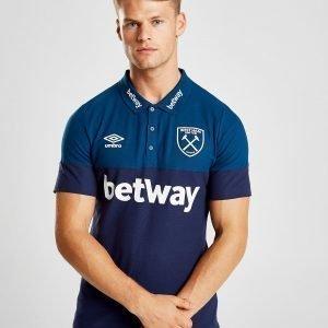 Umbro West Ham United Fc Polo Shirt Laivastonsininen